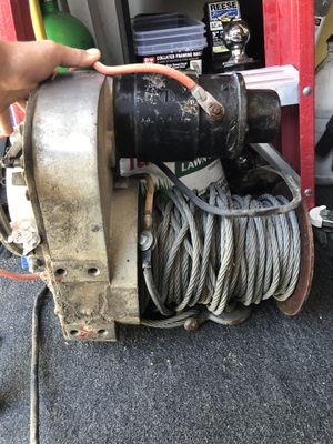 Warn winch model 5687 for Sale in Upland, CA