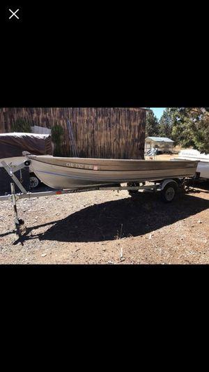 "EZ Loader Trailer and Starcraft 14"" Aluminum Boat for Sale in Redmond, OR"