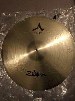 """Zildjian A 21"""" Sweet Ride cymbal for Sale in Los Angeles, CA"""