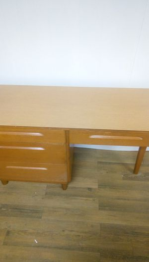 Wooden desk for Sale in Lynchburg, VA