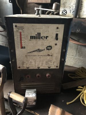 Miller stick welder with rods ect for Sale in Industry, PA