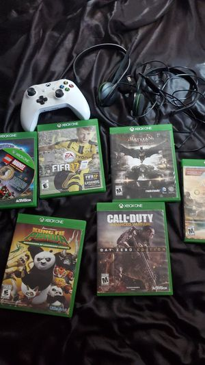 7 games 2 headsets and 1 remote all work for Sale in Pittsburg, CA