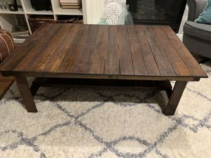 Rustic coffee table with two end tables for Sale in Maple Valley, WA