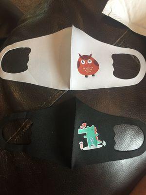 (2 pack) Kids face masks - handmade for Sale in Burke, VA