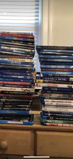 Assorted Blu-Ray Disc Collection for Sale in Washington, DC