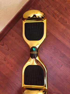 Bluetooth Hoverboard Golden for Sale in Hanford, CA