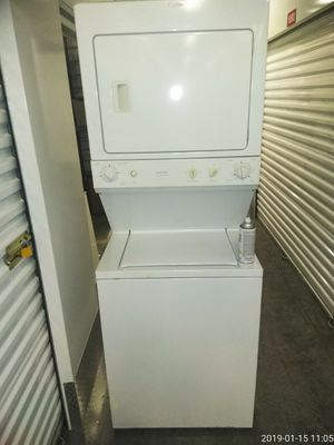 27 inch stacked washer and dryer work for Sale in Fort Washington, MD