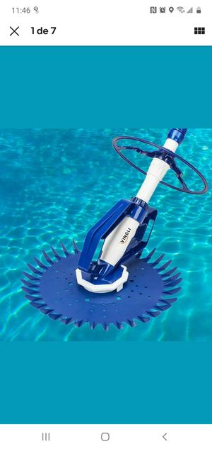 Pool Sweeper Automatic Vacuum Cleaner Swimming Suction Side Climb Wall In Ground for Sale in Fresno, CA