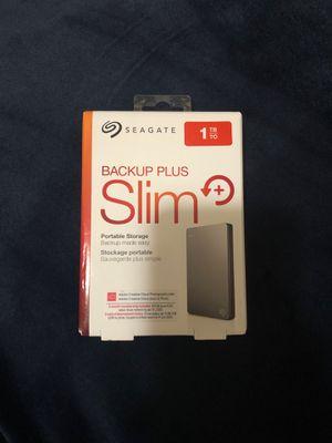SEAGATE 1TB Slim portable storage (Brand New) for Sale in Queens, NY
