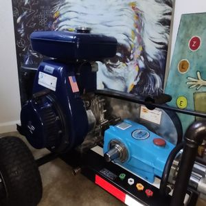 10 GPM, 1000 PSI CAT PUMP 10 FRAME 820 Wisconsin Robin 11 HP EY44W POWER PRESSURE WASHER for Sale in Rancho Cordova, CA