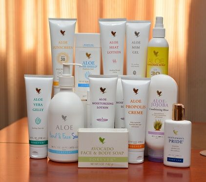 Health and beauty (aloe vera) delivery included