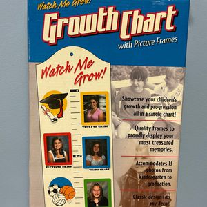 Kids growth chart with picture frames for Sale in Arlington, VA