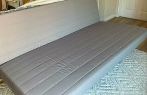Futon couch & bed. Excellent condition. Metal frame. Wooden slats. for Sale in San Diego, CA