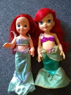 Two Ariel doll for Sale in Germantown, MD
