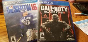 2 PLAYSTATION PS4 GAMES for Sale in Las Vegas, NV
