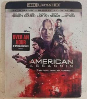AMERICAN ASSASSIN (4K + BLU RAY) for Sale in El Cajon, CA