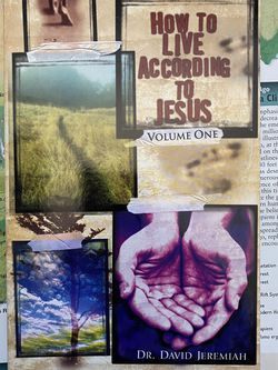 How To Live According To Jesus By Dr. David Jeremiah Book for Sale in Chula Vista,  CA