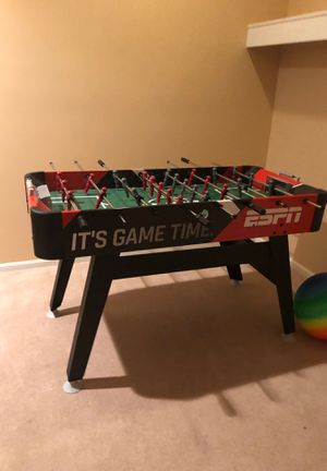 ESPN FOOSBALL TABLE KIDS GAME ROOM for Sale in Naperville, IL