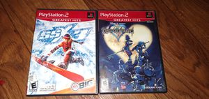 Lot SSX 3 & Kingdom Hearts Sony PlayStation 2 PS2 Complete for Sale in Los Angeles, CA
