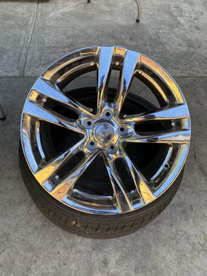 Rims with tires for Sale in Bellflower, CA
