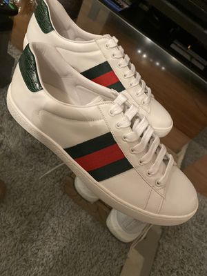 Gucci Ace Sneakers Size 10 for Sale in Houston, TX