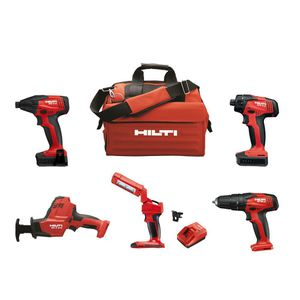 12-Volt Cordless 5-Tool Combo with Recip Saw Hammer Drill Driver Impact Driver 4.0 Li-Ion Battery Pack and More for Sale in Dumfries, VA