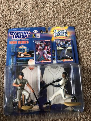 Griffey/a rod figures for Sale in Bolingbrook, IL