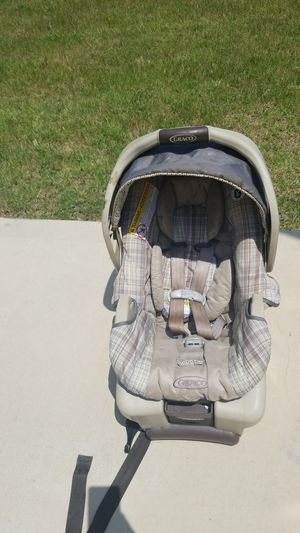 Graco car booster seat and baby stroller for Sale in Keller, TX