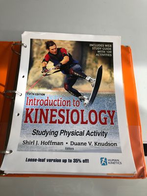 5th Edition Kinesiology loose leaf version w/ Access Code for Sale in La Habra, CA