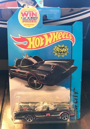 """Hot Wheels """"Tv Series BatMobile"""" 2014 for Sale in Des Moines, IA"""