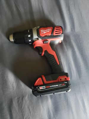 Milwaukee M18 1/2 Drill/Driver 18v With Battery for Sale in Oxnard, CA