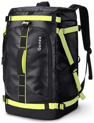 Gonex 50L Ski Boot Bag Backpack, Waterproof Snowboard Boot Backpack for Men Women, Ski Boots Bag for Travel, Ski, Snowboard, Helmet, Goggles and Oute for Sale in Santa Ana, CA