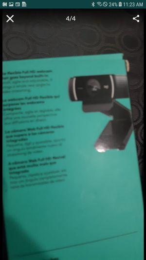 Logitech 1080p pro stream webcam. Brand new. Never opened for Sale in Riverside, CA
