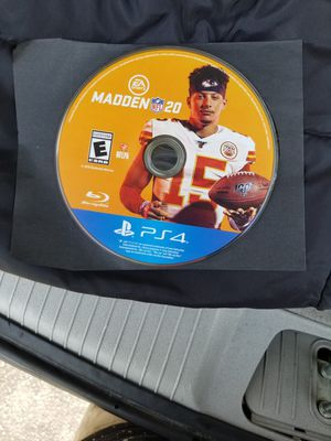 *Madden 20 For PS4* -Doesn't Come W/Original Case- for Sale in GILLEM ENCLAVE, GA