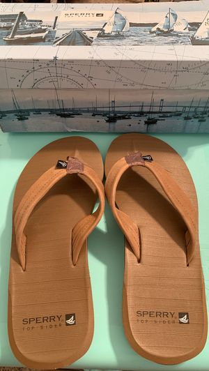 NEW Sperry flip flops for Sale in Gulf Breeze, FL
