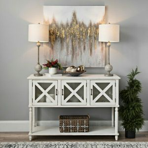 3 cabinet buffet console table for Sale in Hendersonville, TN