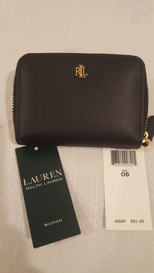 Lauren Ralph LaurenSmooth Leather Zip Wallet for Sale in Vienna, VA