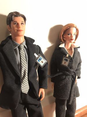 Barbie X-Files Mulder & Scully for Sale in Washington, DC