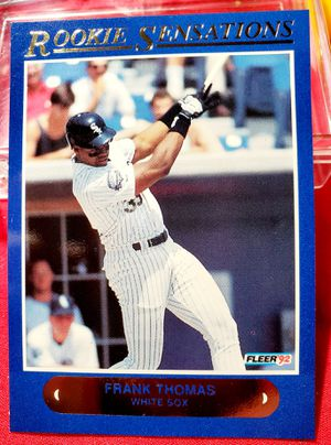 Frank Thomas 92 Fleer Rookie Sensations Card for Sale in Asheboro, NC