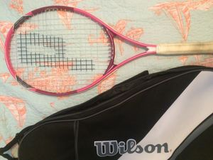 Tennis Racket including Wilson bag and 2 balls for Sale in Tampa, FL