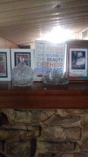 Glass Decorations and picture frames for Sale in Huffman, TX