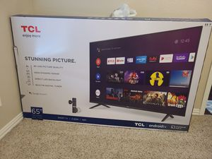 TCl 65 Inch 4K UHD brand new for Sale in Plano, TX