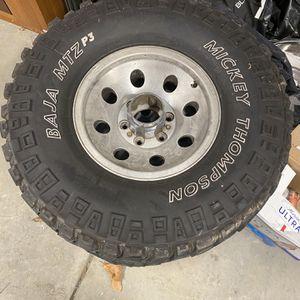 Mickey Thomason Baja MTZ Tires 33-12.50-R15LT for Sale in Matthews, NC