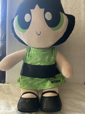 Power puff girl build a bear for Sale in Fresno, CA