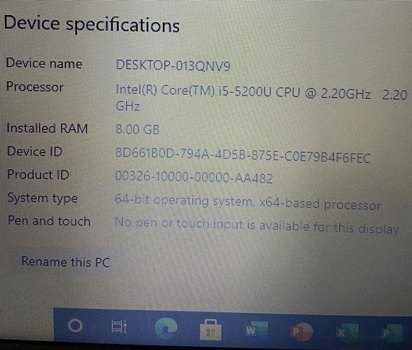 Toshiba Satellite C55-C5241 Intel Core i5-2.2GHz 15.6
