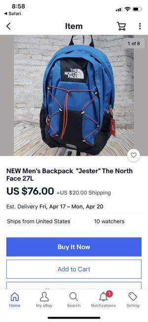 North Face Backpack for Sale in Scottsdale, AZ