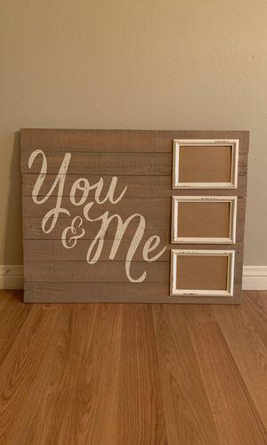 Fun picture frame for Sale in Calimesa, CA