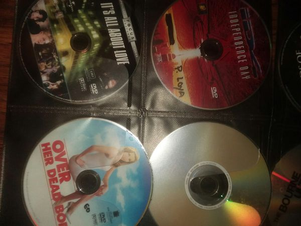 16 blockbuster DVD's