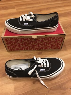Vans 44 DX Black Men's 10 (Anaheim Factory) for Sale in Pittsburgh, PA