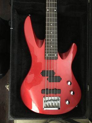 Red 5-string bass for Sale in Atlanta, GA